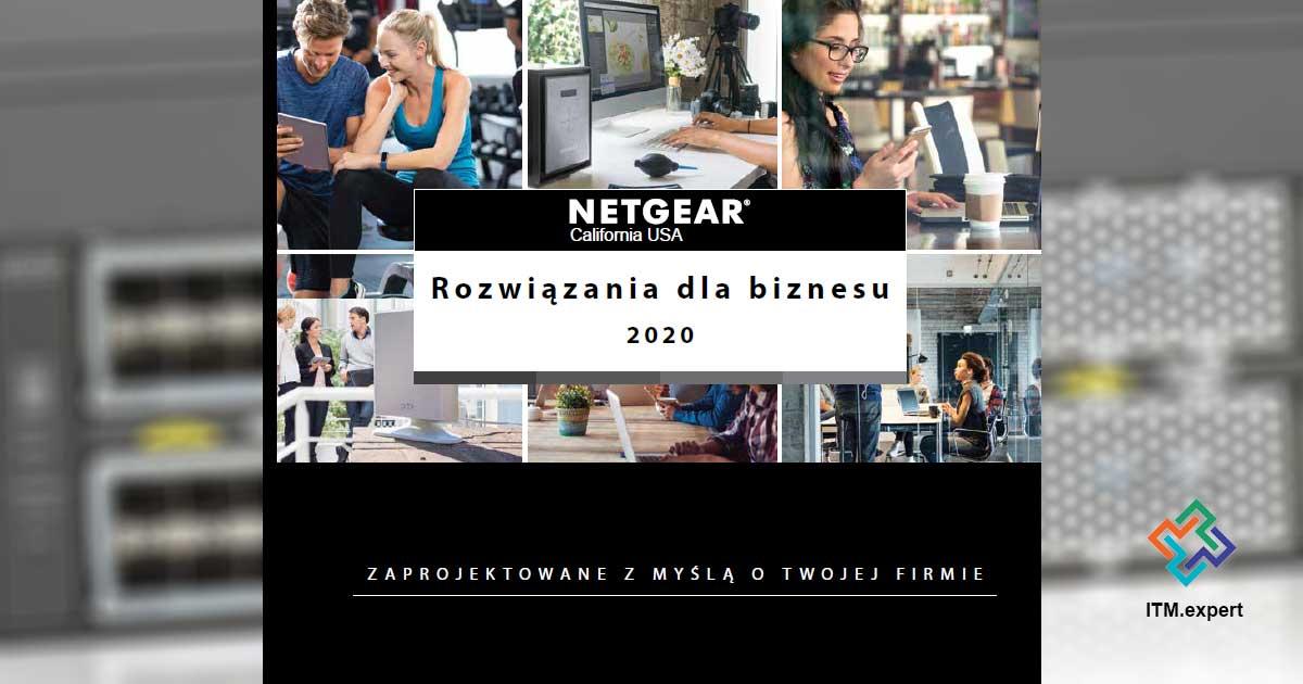 Katalog NETGEAR 2020 – rozwiązania dla biznesu