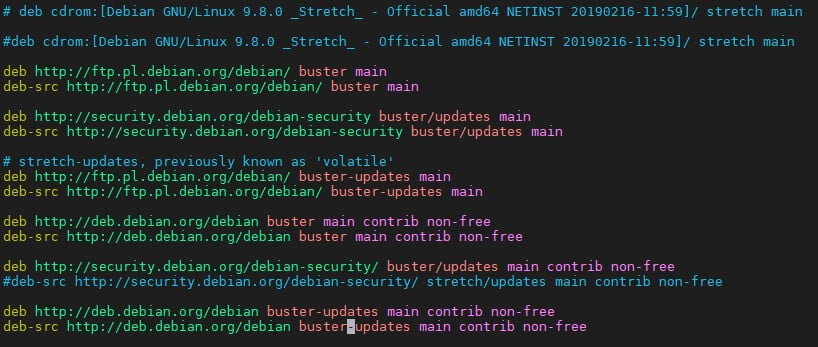 ITM-expert-debian upgrade 3